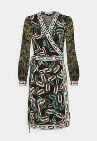 Diane von Furstenberg - GALA - Jersey dress - black/ivory - 5