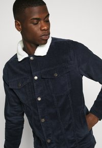 Denim Project - TEDDY JACKET - Tunn jacka - navy - 3