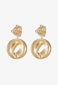 ERASE - ORGANIC CIRCLE DROP - Pendientes - gold-coloured - 3