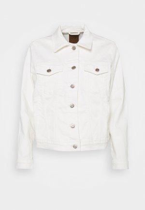 ICON JACKET STRETCH - Denim jacket - ivory frost