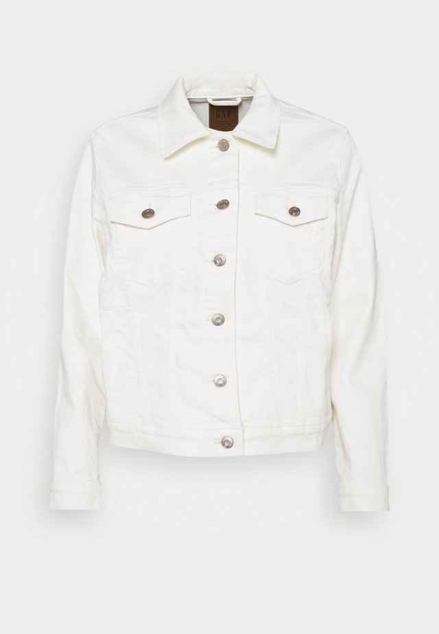 ICON JACKET STRETCH - Spijkerjas - ivory frost