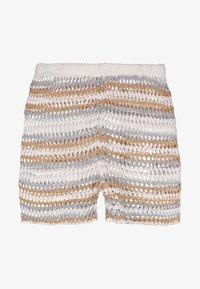 Missguided Tall - RAINBOW STRIPE CROCHET - Shorts - multi-coloured - 3