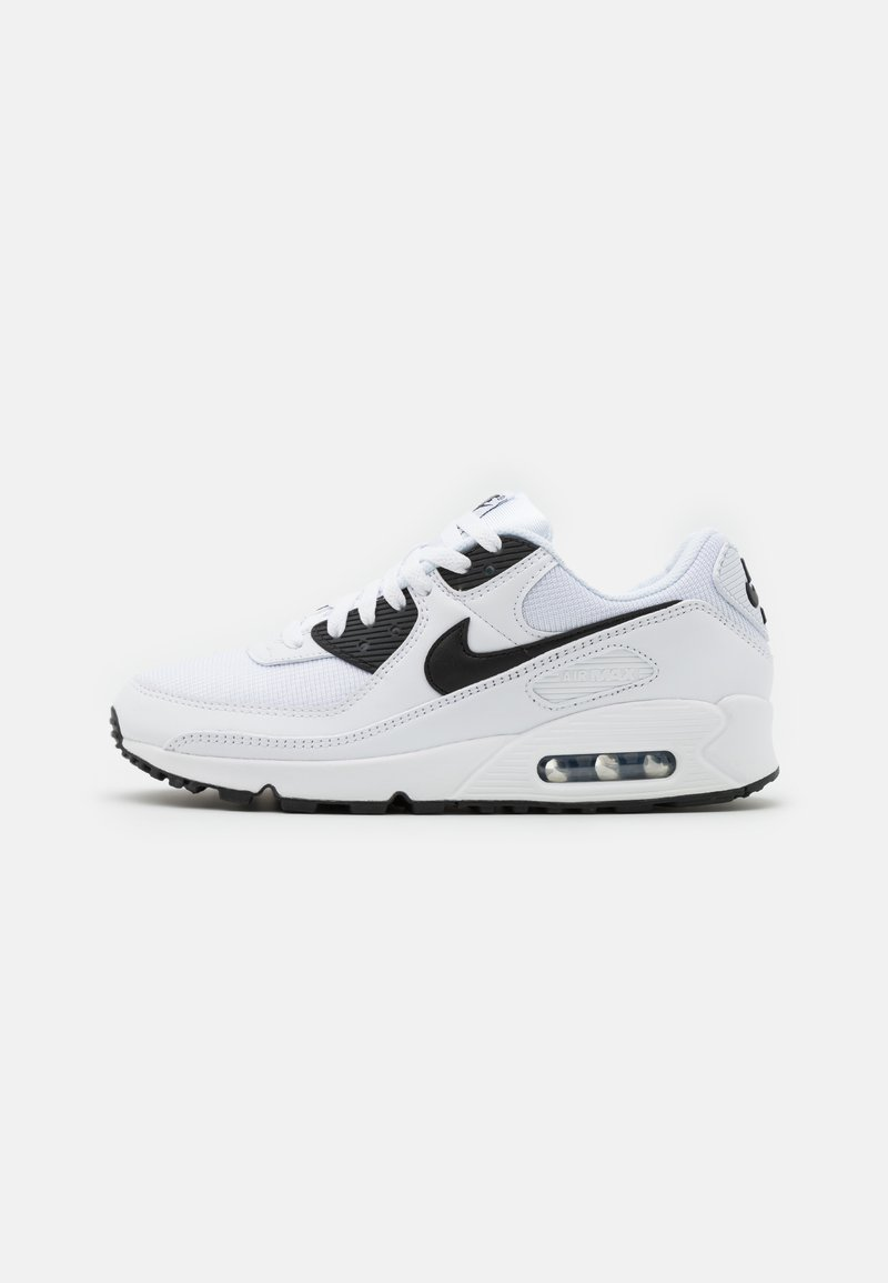 Nike Sportswear - AIR MAX 90 - Trainers - white/black