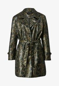 Sara Lindholm by HAPPYsize - Short coat - grün schwarz - 3