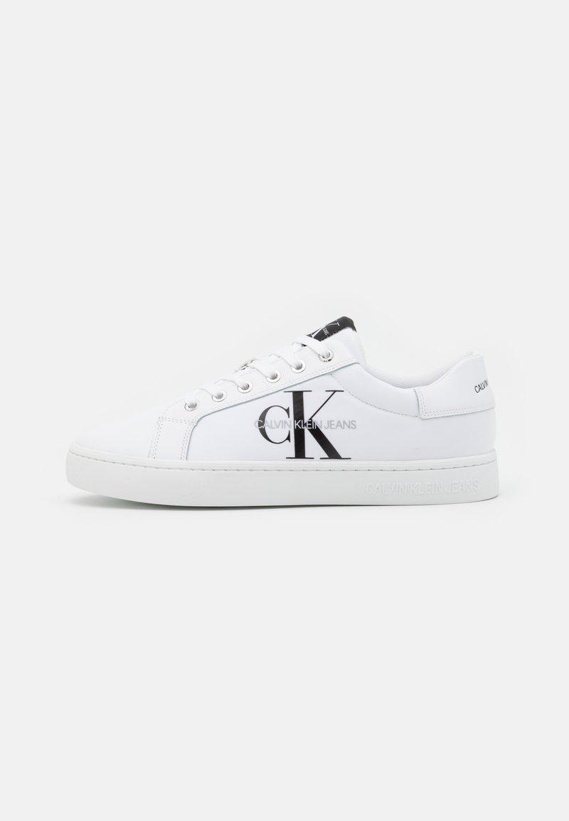 Calvin Klein Jeans - CUPSOLE LACEUP  - Matalavartiset tennarit - bright white