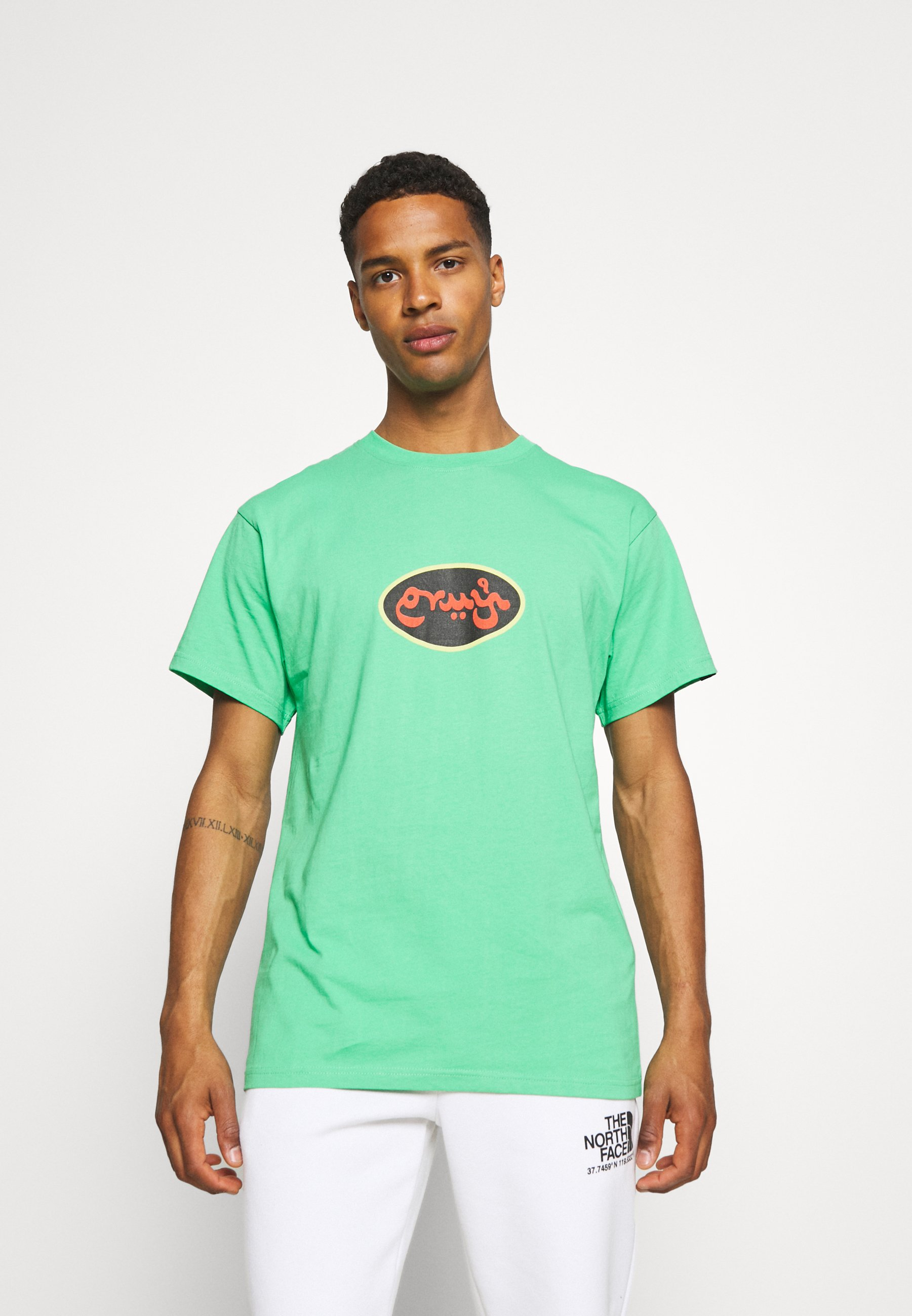 Homme VISIT JERICHO TEE UNISEX - T-shirt imprimé