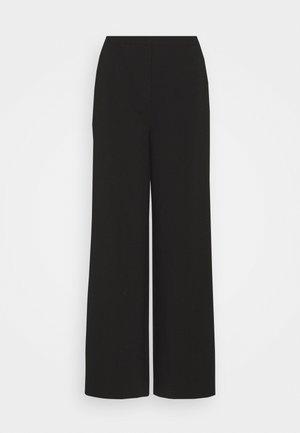 MOORE PANTS - Kalhoty - black