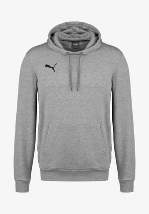 TEAMGOAL 23 CASUALS HOODIE HERREN - Felpa con cappuccio - medium grey heather