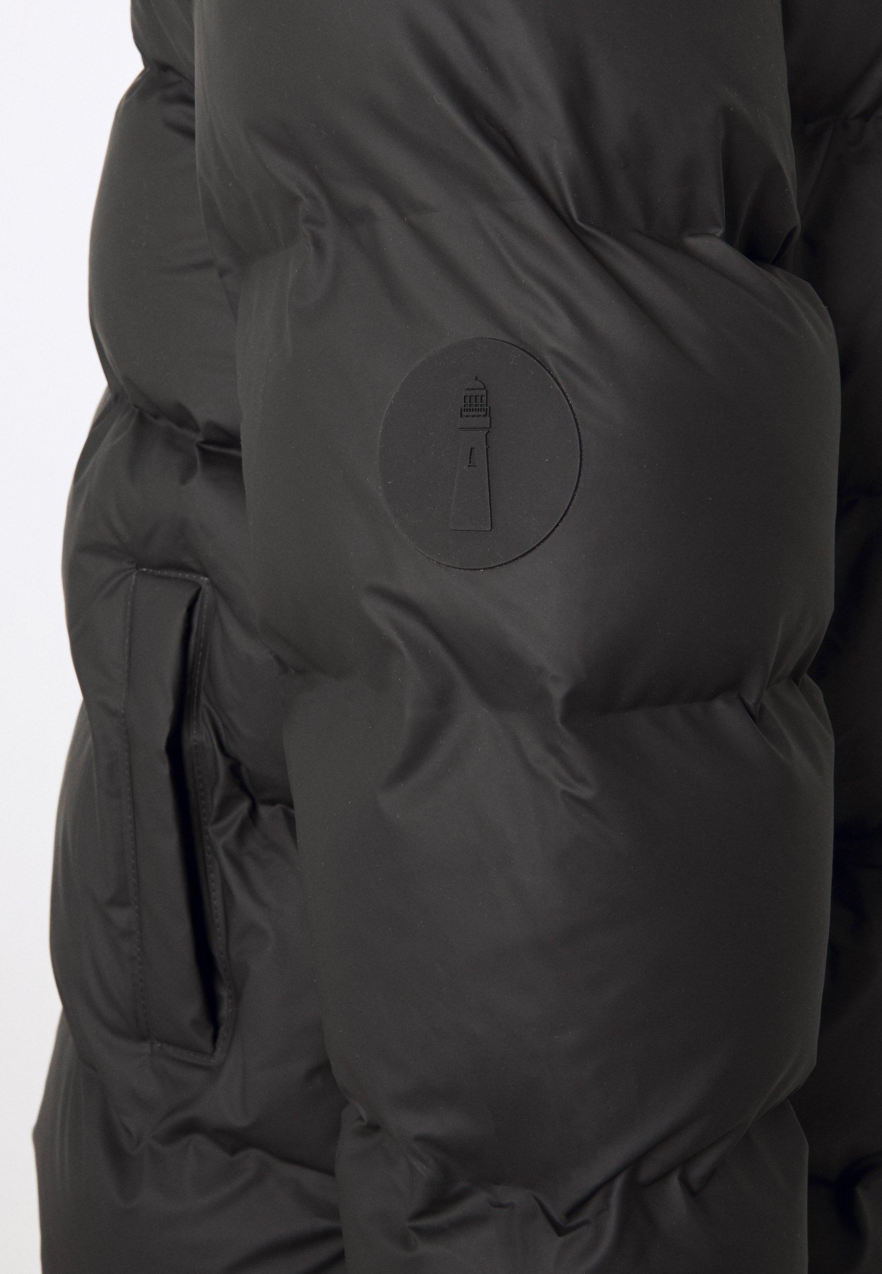 Particular Discount Women's Clothing Rains PUFFER JACKET Winter jacket black ikTJ1HJJ1