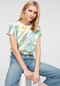 s.Oliver - Print T-shirt - mint - 3