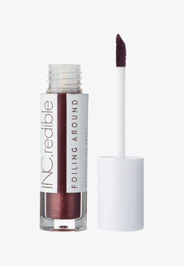 INC.REDIBLE FOILING AROUND METALLIC LIP PAINT - Liquid lipstick - 10078 call my cab