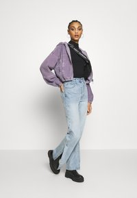 BDG Urban Outfitters - HOODED JACKET - Bomber Jacket - lilac - 1