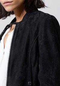 Tigha - TIMELESS RACER - Leather jacket - black - 3