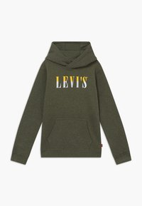 Levi's® - LOGO HOODIE - Kapuzenpullover - olive night heather - 0