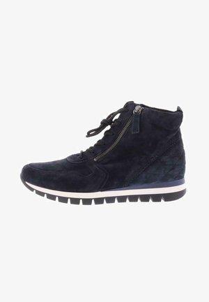 Lace-up boots - dunkel blau