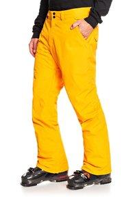 Quiksilver - ESTATE - Snow pants - flame orange - 2