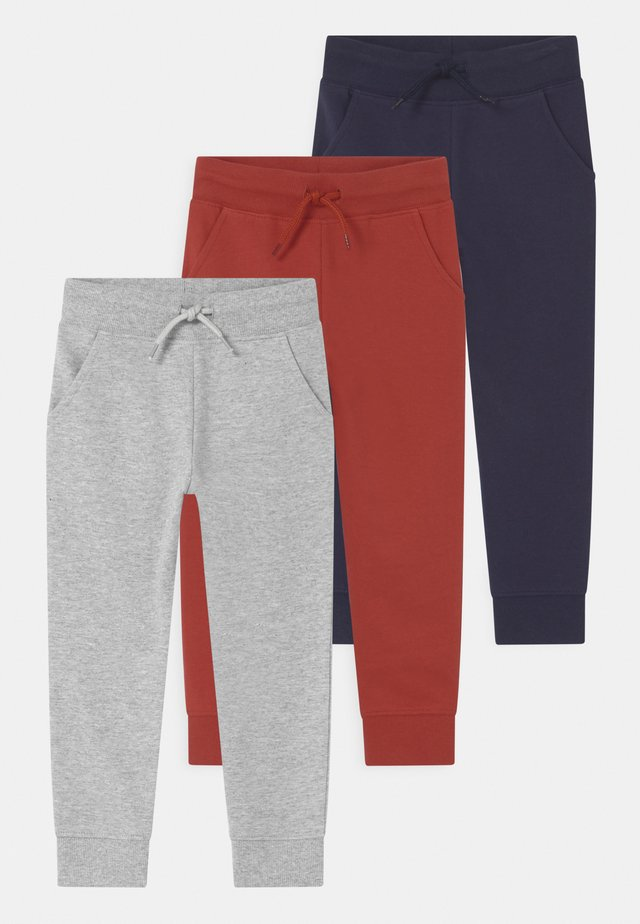 3 PACK UNISEX  - Tracksuit bottoms - multi-coloured