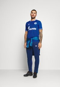 Umbro - FC SCHALKE 04 HOME - Club wear - deep surf/brilliant white - 1