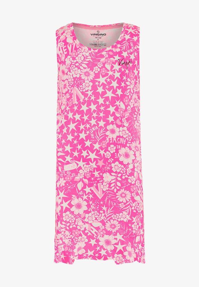 Pyjamas - neon pink