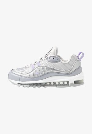AIR MAX 98 - Trainers - vast grey/purple agate/metallic platinum/wolf grey/white
