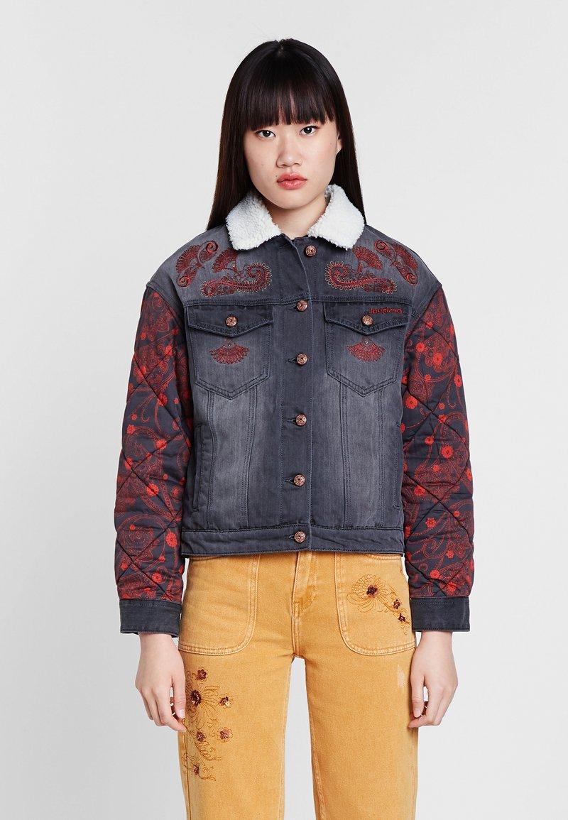 Desigual - Denim jacket - blue