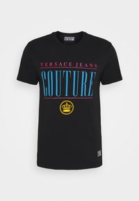 Versace Jeans Couture - MAN - Print T-shirt - nero - 5