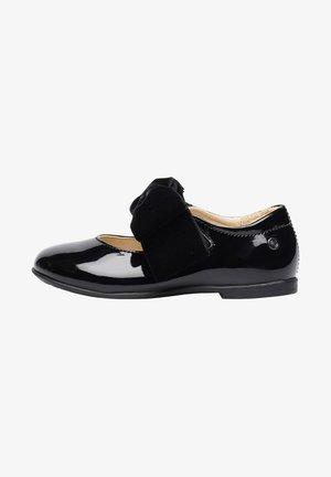 STRESA - Ankle strap ballet pumps - schwarz