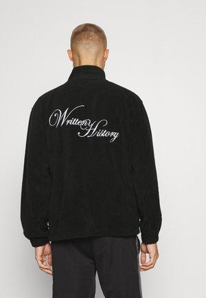 THEBES JACKET UNISEX - Fleece jacket - black