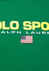 Polo Sport Ralph Lauren - Print T-shirt - english green - 5