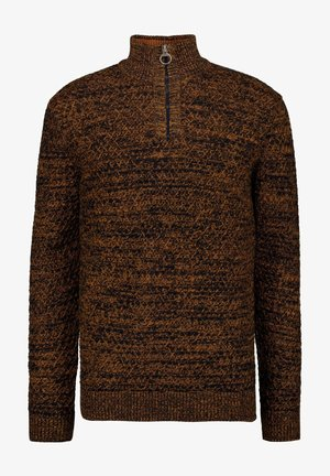 Jumper - dark ochre