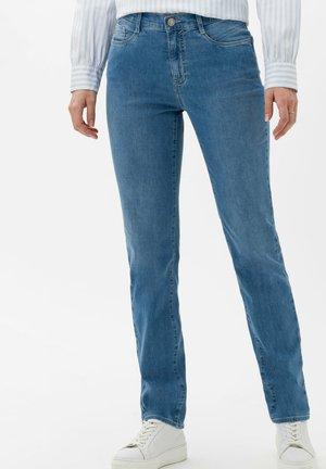 STYLE CAROLA - Slim fit jeans - used light blue