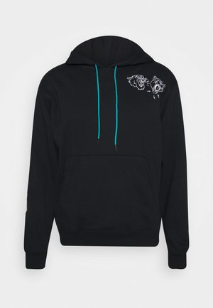 FRANCHISE HOODIE - Sweat à capuche - black