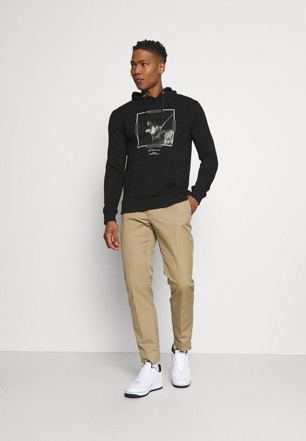 CLOSURE London DOBERMAN HOODY - Bluza - black/czarny Odzież Męska BDZB
