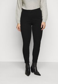 Tommy Hilfiger Curve - ANKLE SCULPT - Leggings - Trousers - black - 0