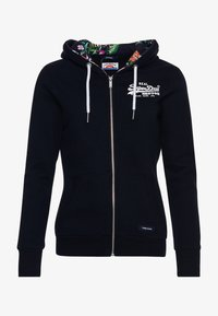 Superdry - VINTAGE LOGO - Zip-up sweatshirt - dark blue - 3