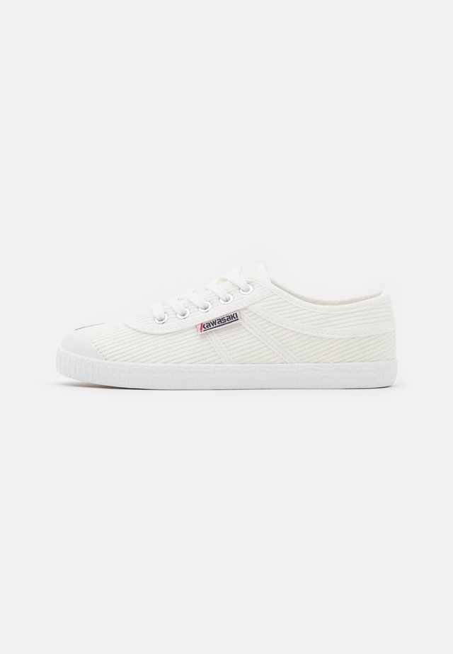 CORDUROY - Trainers - white
