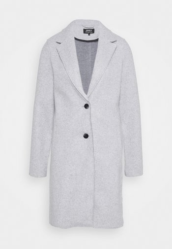 ONLCARRIE BONDED COAT - Klasický kabát - light grey