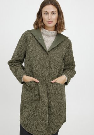 Winterjas - grey denim