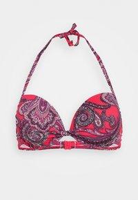 PUSH UP - Bikini top - red