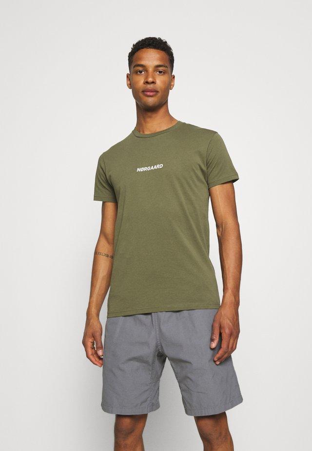 T-shirt imprimé - olive night