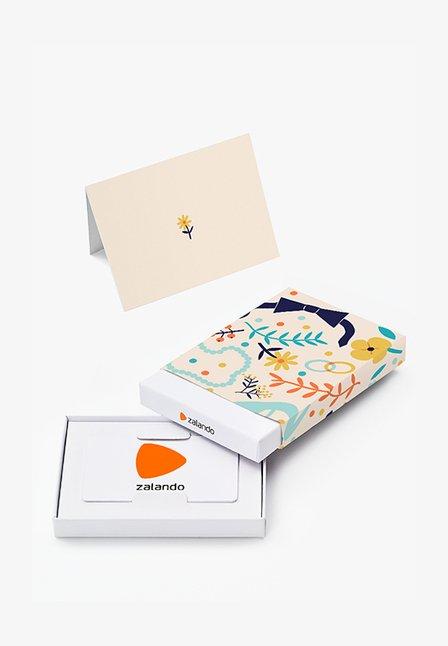HAPPY BIRTHDAY - Karta upominkowa w pudełku - beige