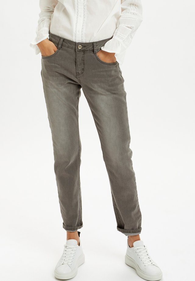 CRLONE  - COCO - Jeans a sigaretta - grey denim