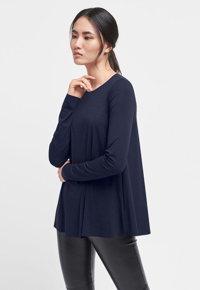 AURORA - Maglietta a manica lunga - navy opal