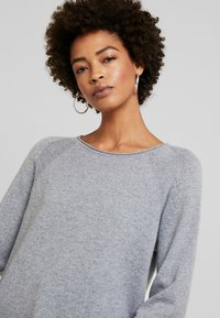 Culture - CUALAIA - Jumper - light grey melange - 3