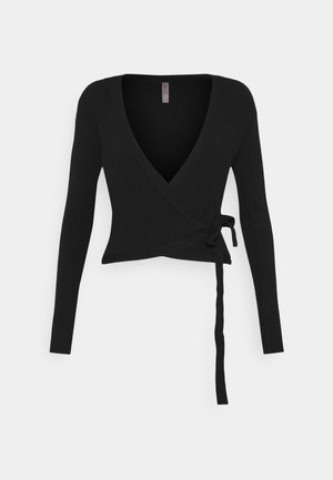 WRAP - Veste de survêtement - black