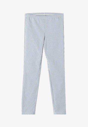 Leggings - Trousers - righe bianco/blu