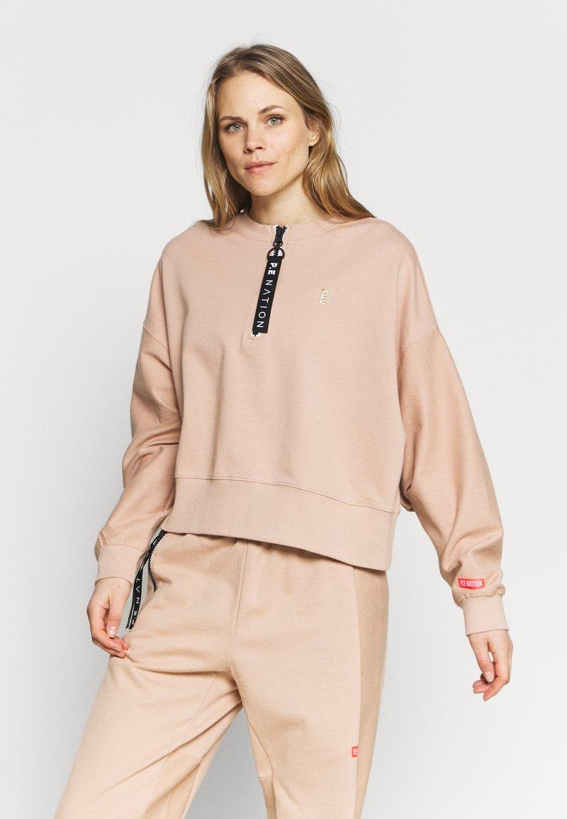 P.E Nation - REGAIN  - Sweater - nude