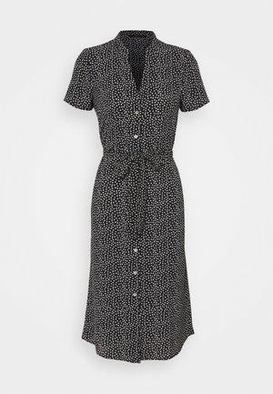 VMSAGA CALF SHIRT DRESS PETITE - Shirt dress - black