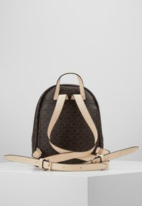 Calvin Klein - MONO BACKPACK  - Plecak - brown - 5