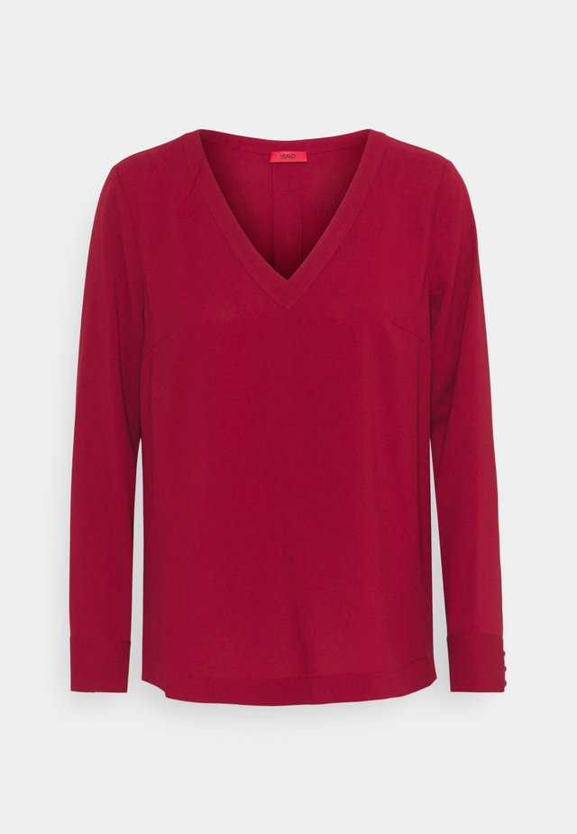 CALILE - Blouse - open red